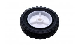 Univerzálne koleso 150mm - plastové, gumená pneumatika