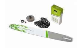 Lišta 50cm + reťaz 72 článkov 3/8 1,6 mm + Ozubenie Stihl MS660