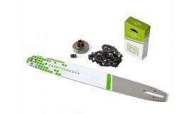 Lišta 50cm + reťaz 72 článkov 3/8 1,6 mm + Ozubenie Stihl MS380