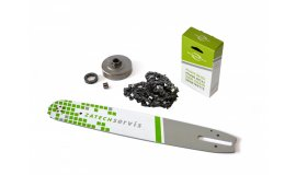 Akčný set Lišta 38cm + reťaz 56 článkov 3/8 1,6mm pre Stihl + Ozubenie MS360,390 pre Stihl