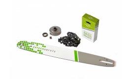Lišta 50cm + reťaz 72 článkov 3/8 1,6 mm + ozubenie Stihl MS360