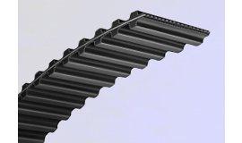 Ozubený remen dlžka 2000 mm šírka 25 mm