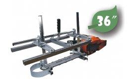 Univerzálny prípravok na rezanie dosek pre lišty 35cm - 92cm (14