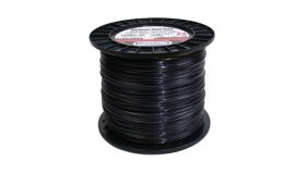 Žací struna NYLIUM STARLINE černé, hvězda 2,7mm x 280m