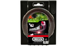 Žací struna DUOLINE PLUS - bezhlučné 2,0mm x 15m